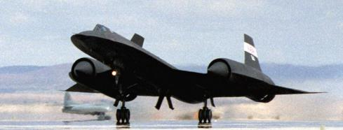 SR71 takeoff